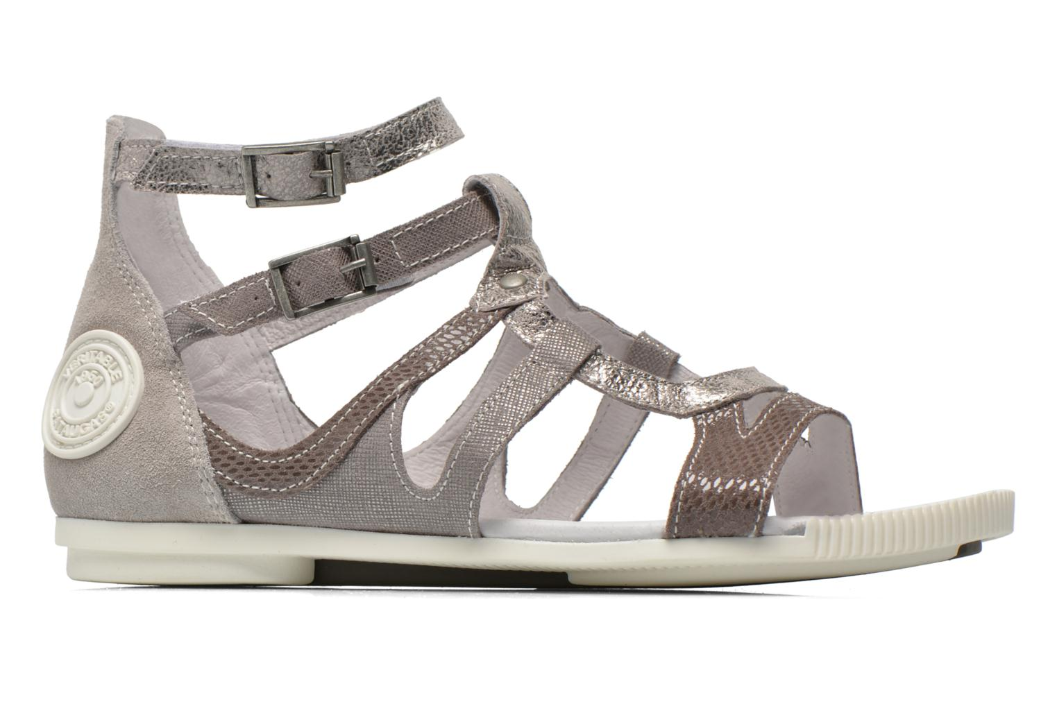 Sandals Pataugas Chance Grey back view
