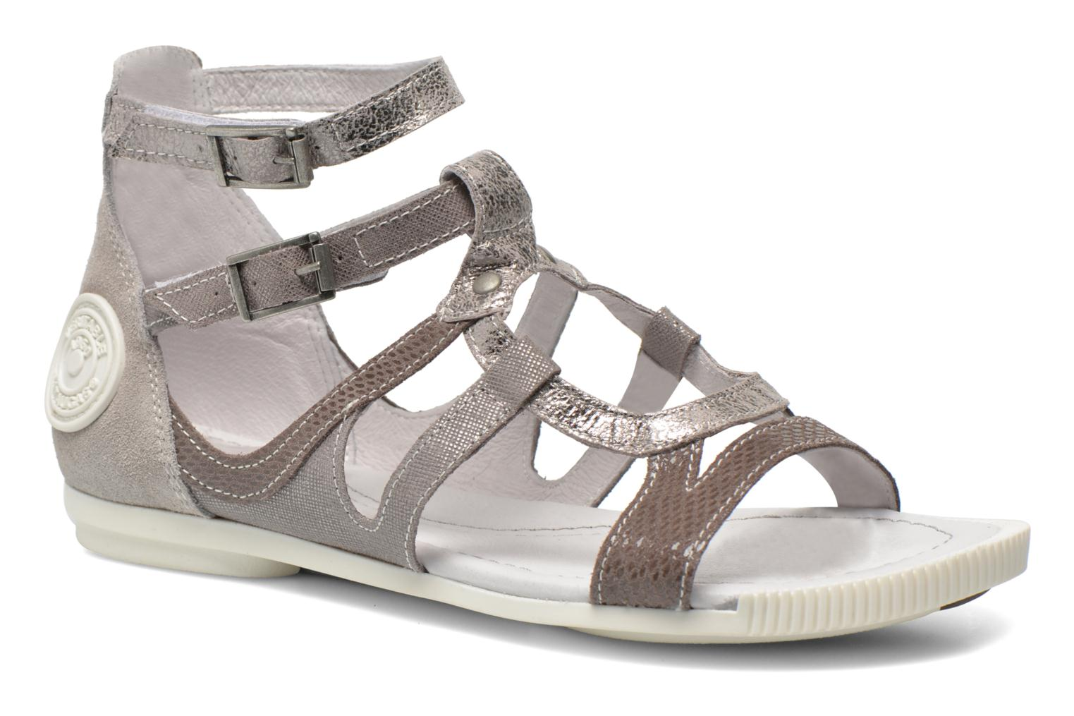 Sandals Pataugas Chance Grey detailed view/ Pair view