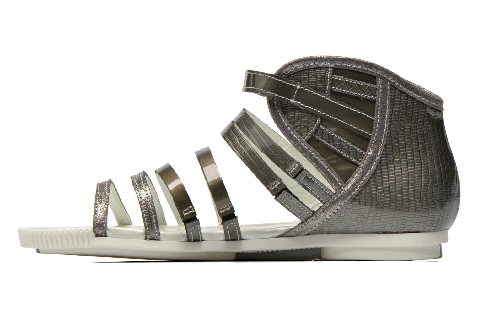 Sandals Pataugas Chic/V Silver front view
