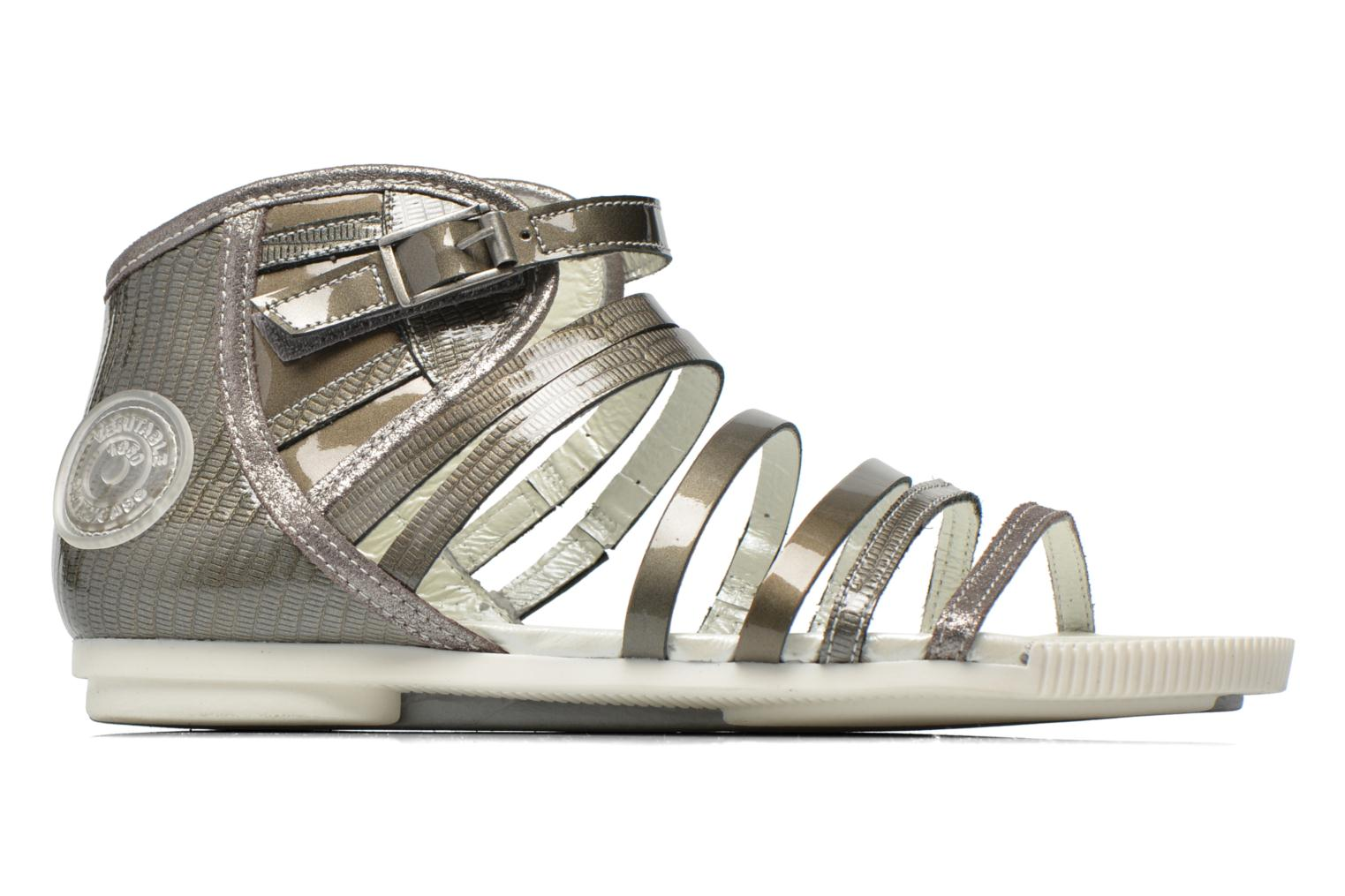 Sandals Pataugas Chic/V Silver back view