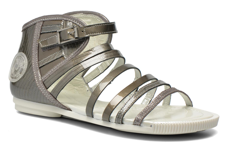 Sandales et nu-pieds Pataugas Chic/V Argent vue détail/paire