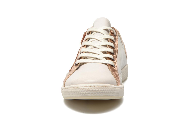 Baskets Pataugas Jester/MI Beige vue portées chaussures