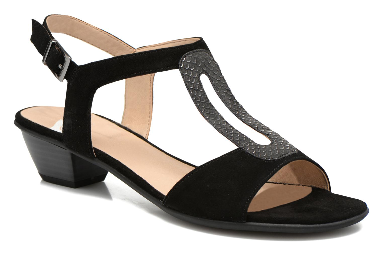 Sandals Sweet Chenel Black detailed view/ Pair view