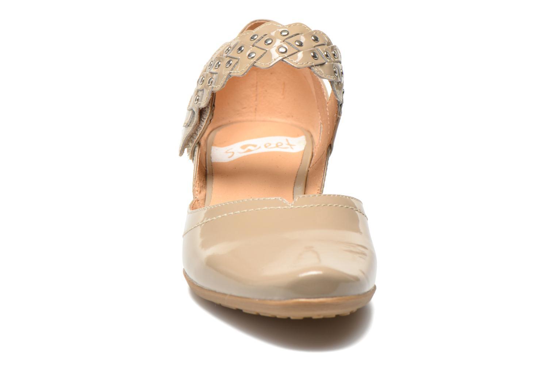 Escarpins Sweet Dizaya Beige vue portées chaussures