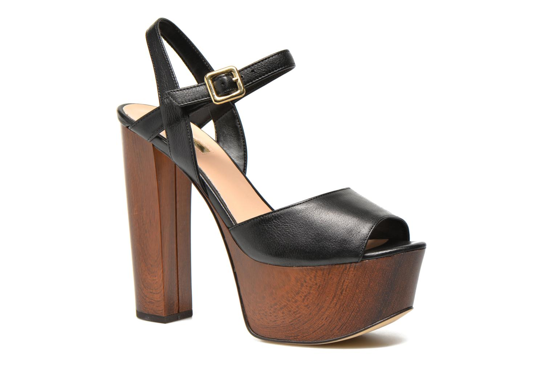 Sandals Guess Teren3 Black detailed view/ Pair view