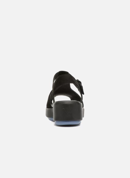 Sandales et nu-pieds Camper Dessa K200083 Noir vue droite