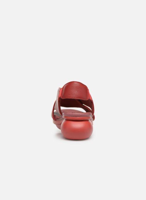 Sandali e scarpe aperte Camper Balloon K200066 Rosso immagine destra