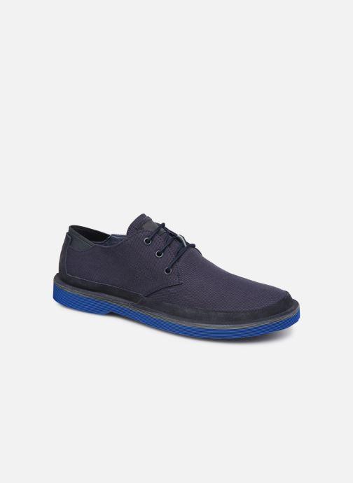 Chaussures à lacets Camper Morrys K100088 Bleu vue détail/paire