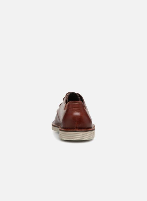 Zapatos con cordones Camper Morrys K100057 Marrón vista lateral derecha