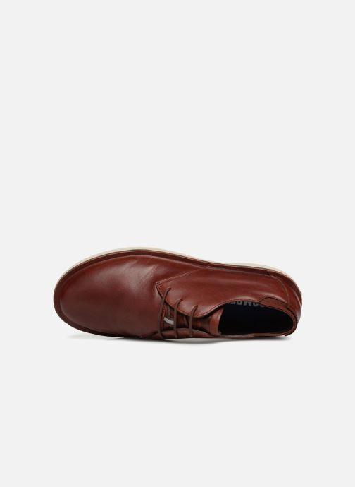 Zapatos con cordones Camper Morrys K100057 Marrón vista lateral izquierda