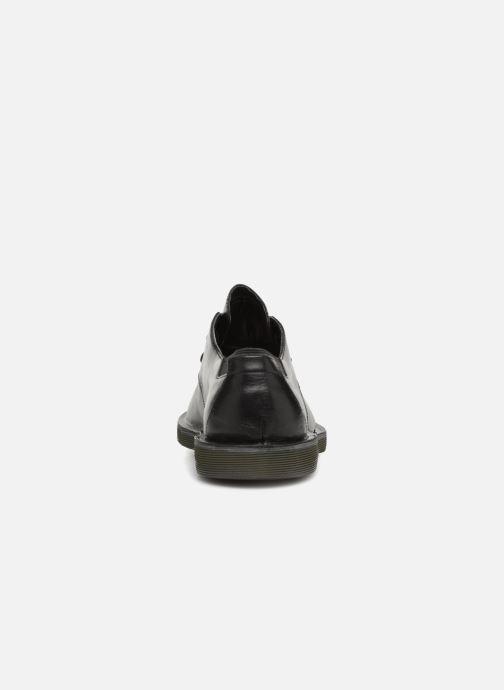 Zapatos con cordones Camper Morrys K100057 Negro vista lateral derecha