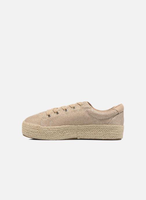 Sneaker Steve Madden STATICC gold/bronze ansicht von vorne
