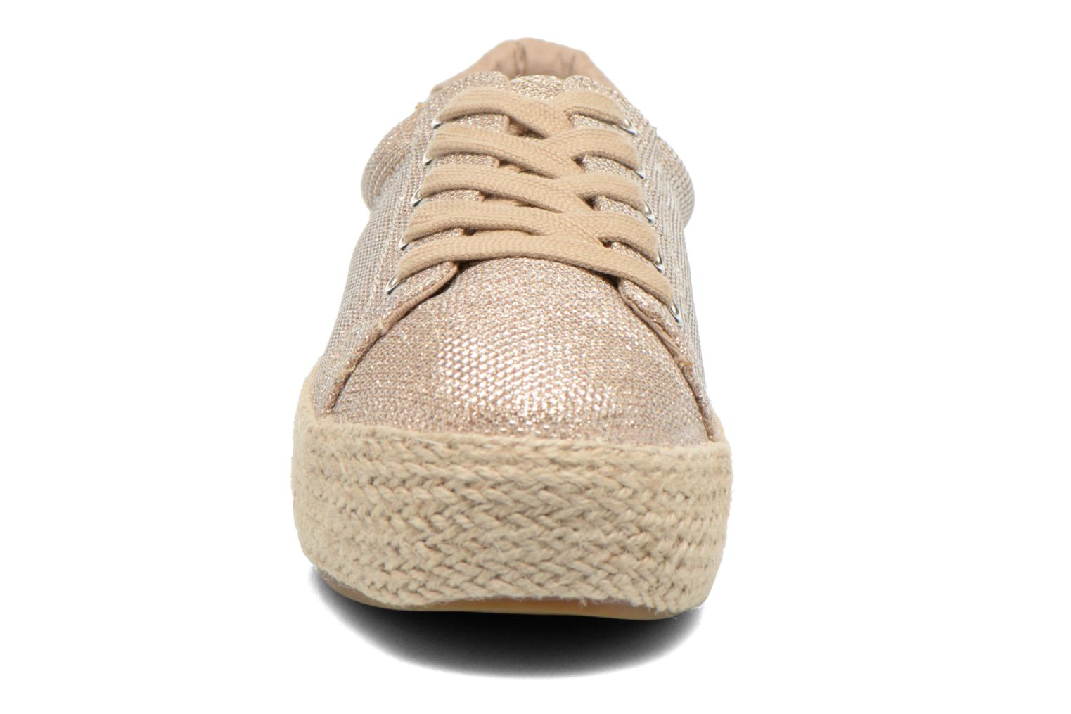 Trainers Steve Madden STATICC Bronze and Gold model view