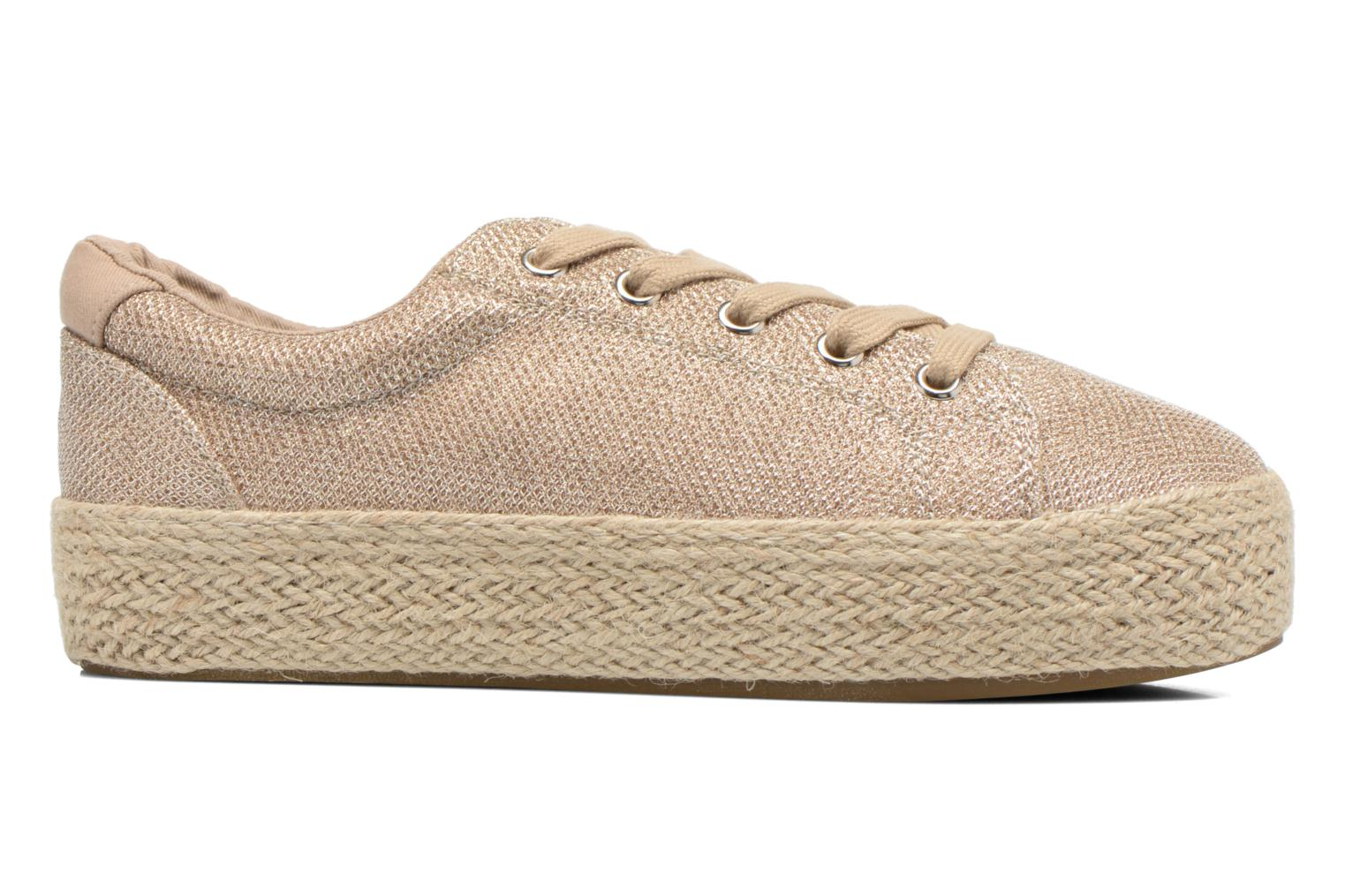 Trainers Steve Madden STATICC Bronze and Gold back view