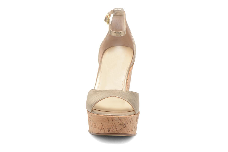 Sandals Steve Madden PANDORE Bronze and Gold model view