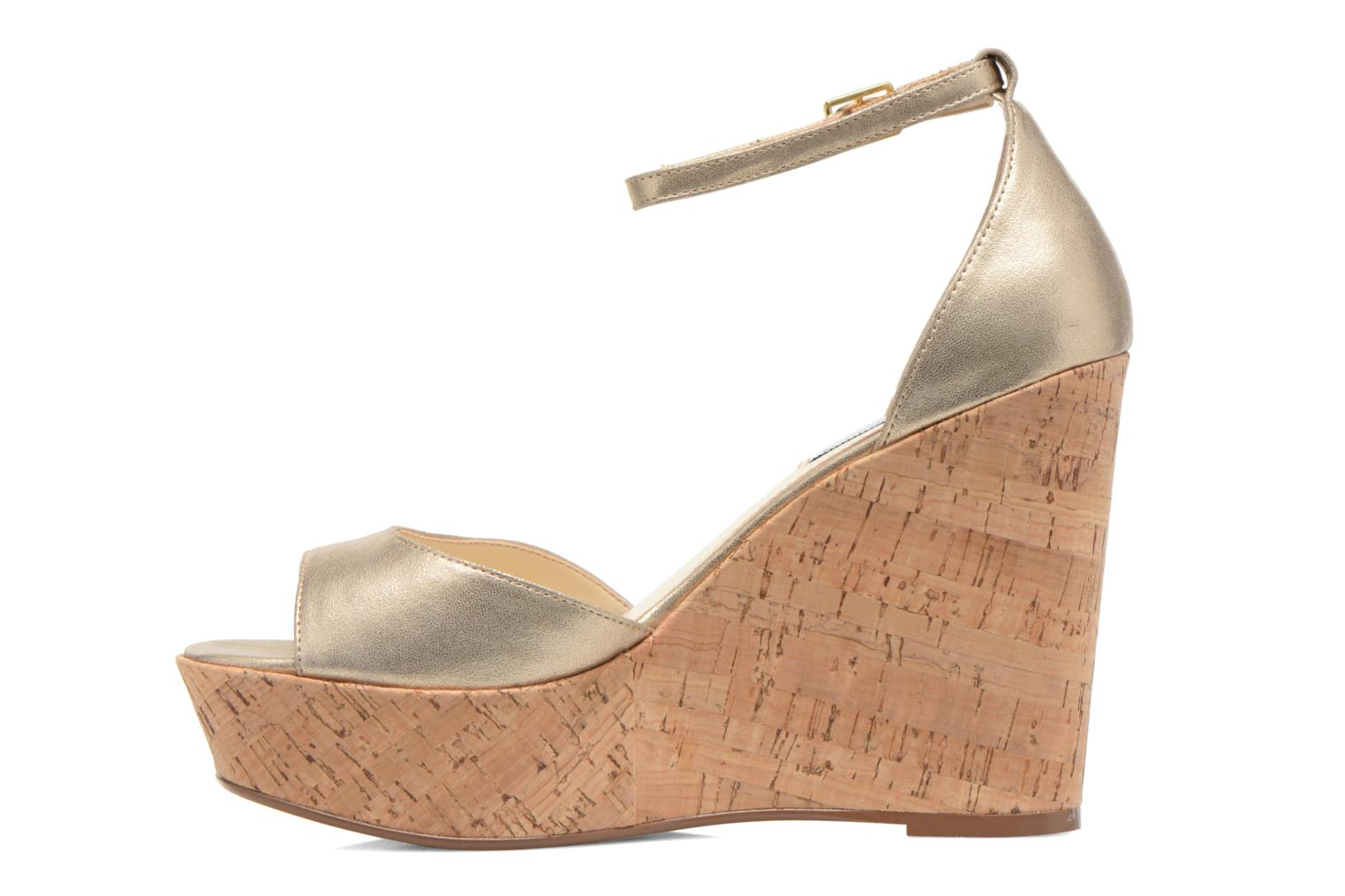 Sandals Steve Madden PANDORE Bronze and Gold front view
