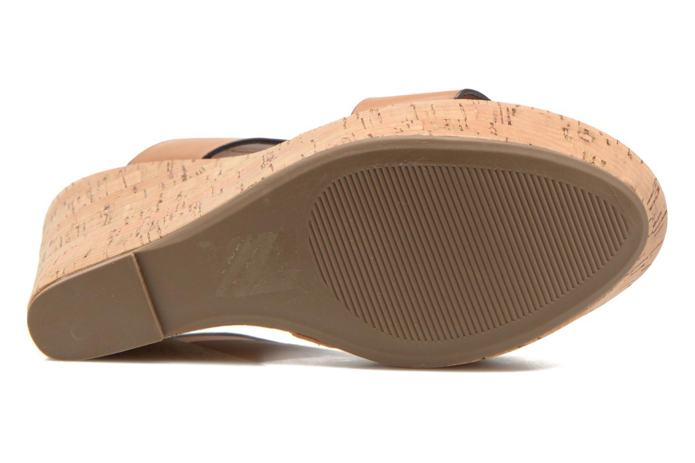 Sandales et nu-pieds Steve Madden ESME Marron vue haut