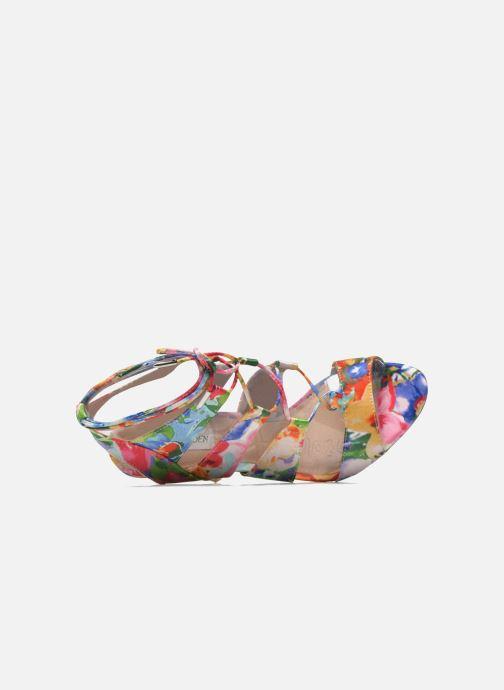 Sandales et nu-pieds Steve Madden SANDALIA Multicolore vue gauche