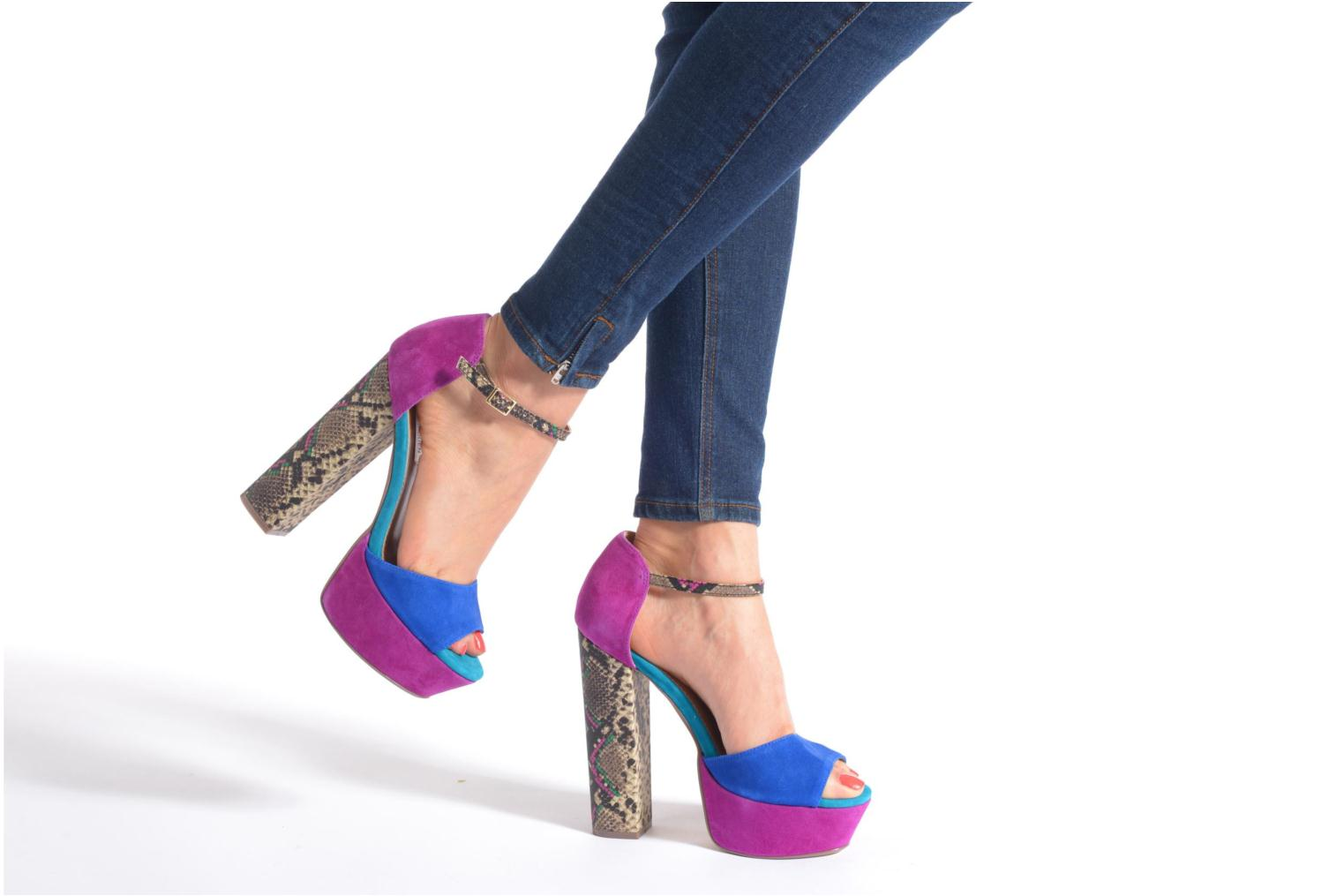 Sandals Steve Madden MYRAA Multicolor view from underneath / model view