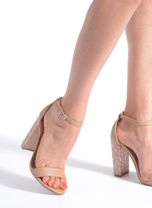 Sandales et nu-pieds Steve Madden CARRSON Beige vue bas / vue portée sac