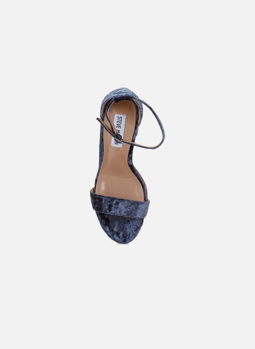 Sandales et nu-pieds Steve Madden CARRSON Bleu vue gauche