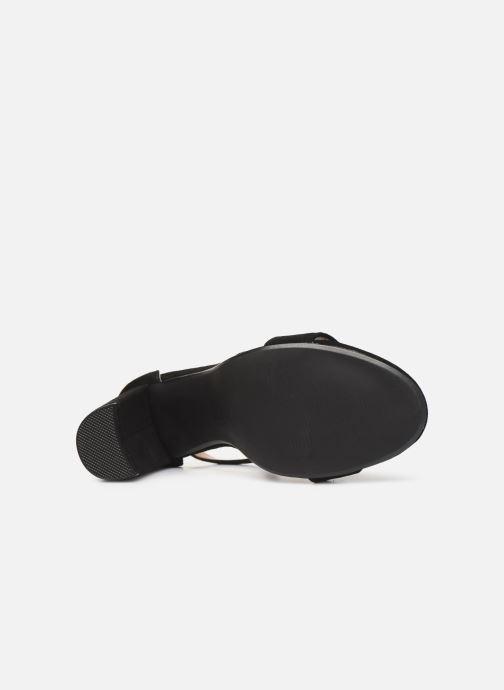 Sandales et nu-pieds Steve Madden CARRSON Noir vue haut