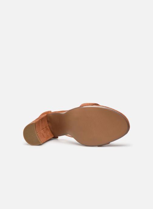 Sandales et nu-pieds Steve Madden CARRSON Marron vue haut