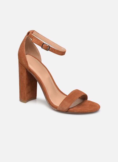 Sandales et nu-pieds Steve Madden CARRSON Marron vue détail/paire