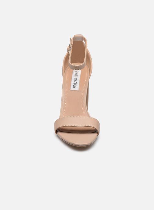 Sandales et nu-pieds Steve Madden CARRSON Rose vue portées chaussures