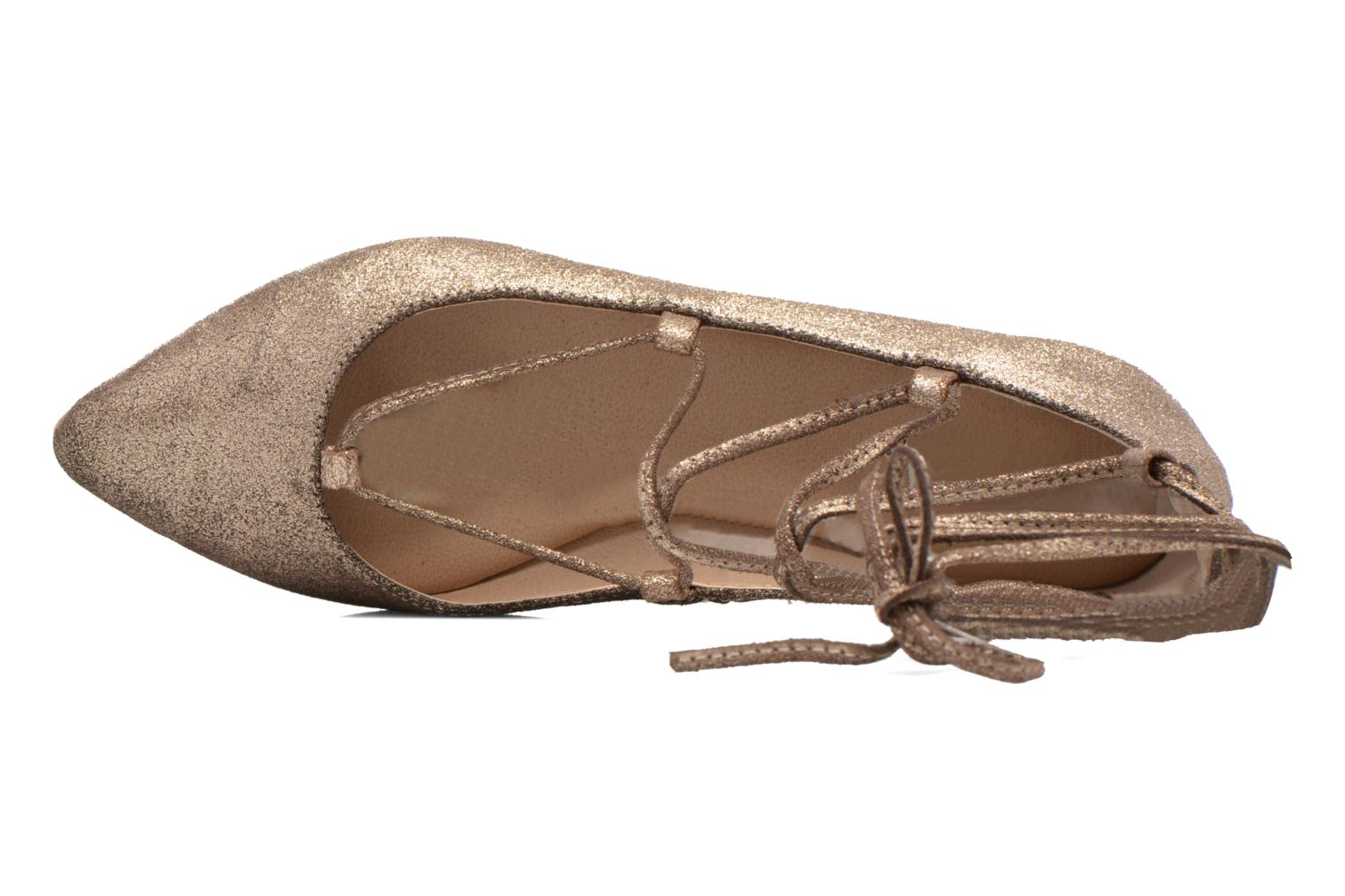 Ballerinas Steve Madden ELEANORR gold/bronze ansicht von links