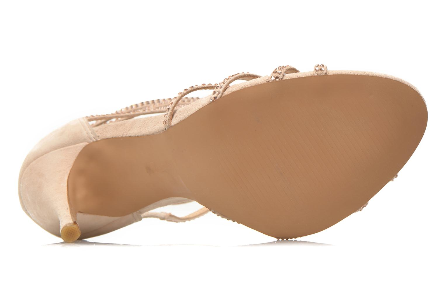 Sandals Steve Madden CAPPER Beige view from above