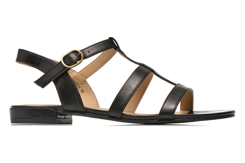 Sandales et nu-pieds Esprit Aely Sandal Noir vue derrière