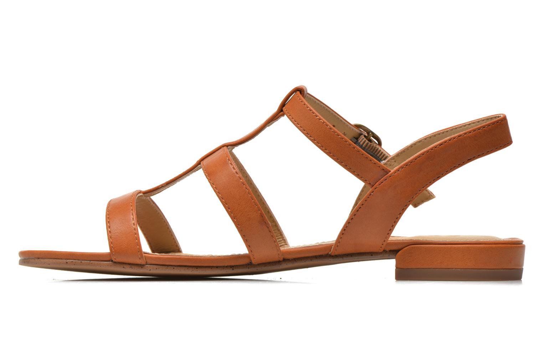 Sandales et nu-pieds Esprit Aely Sandal Marron vue face