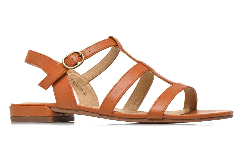 Sandales et nu-pieds Esprit Aely Sandal Marron vue derrière
