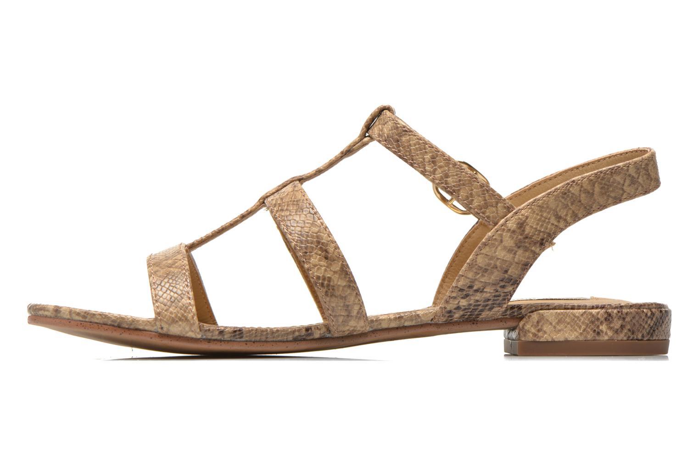 Sandales et nu-pieds Esprit Aely Sandal Beige vue face