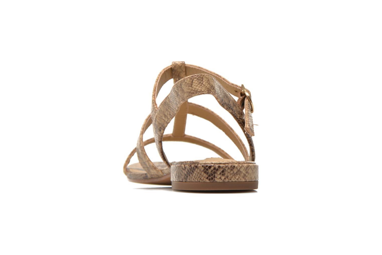 Sandali e scarpe aperte Esprit Aely Sandal Beige immagine destra