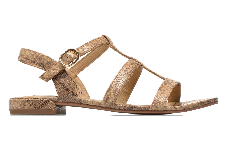 Sandales et nu-pieds Esprit Aely Sandal Beige vue derrière