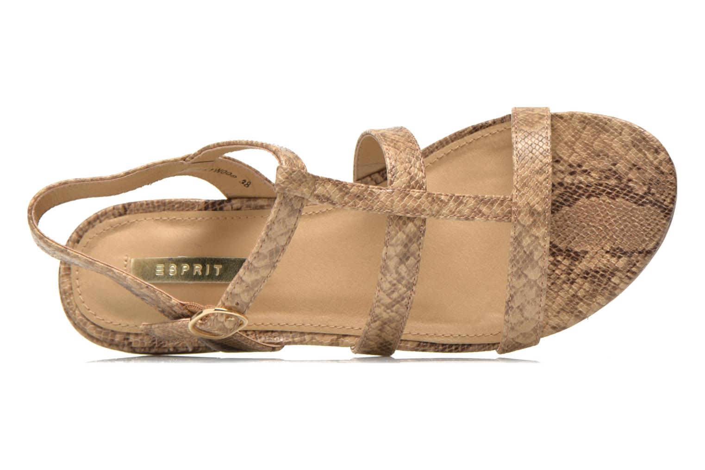 Sandali e scarpe aperte Esprit Aely Sandal Beige immagine sinistra