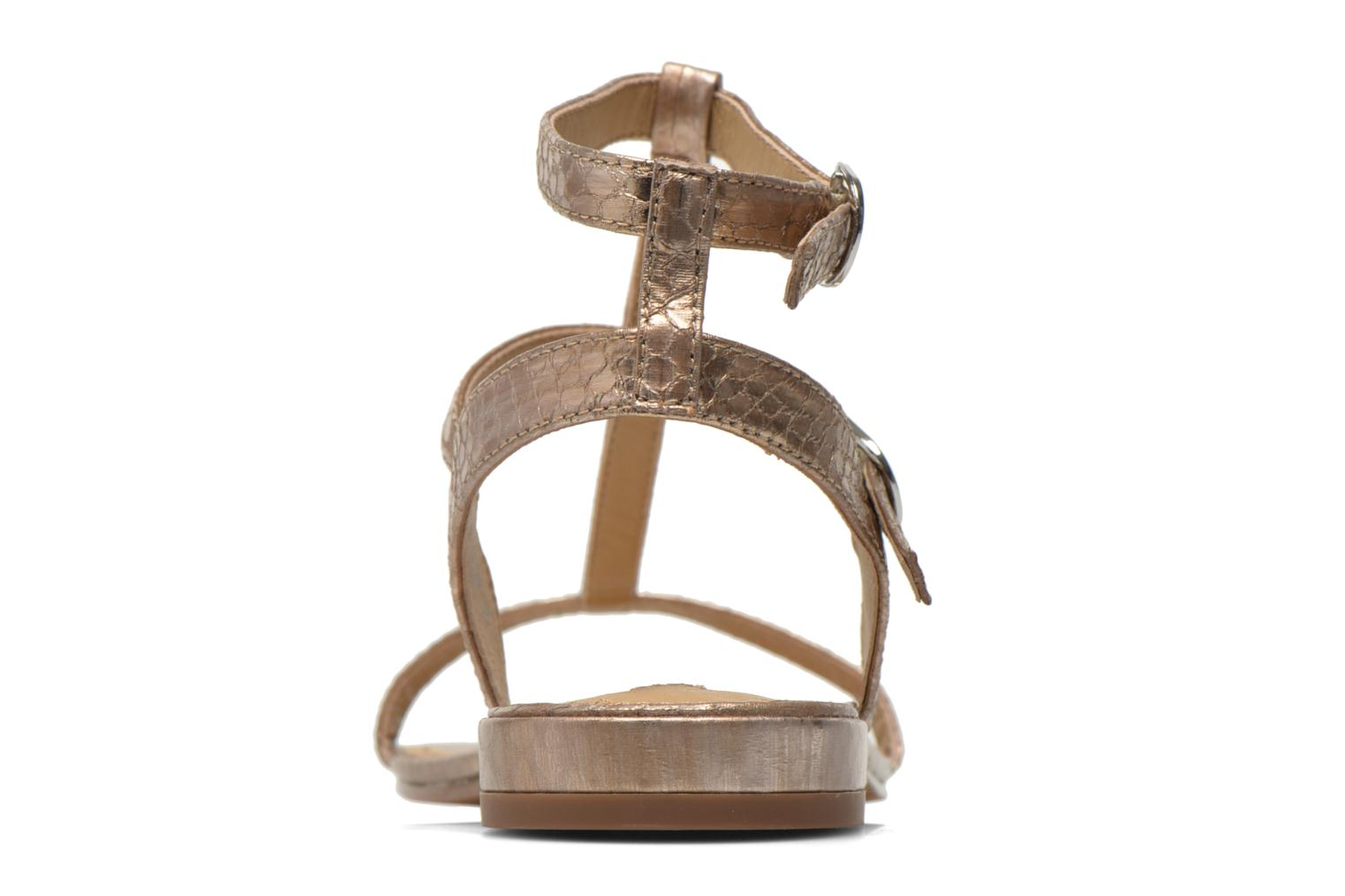 Sandals Esprit Aely Bis Sandal Bronze and Gold view from the right
