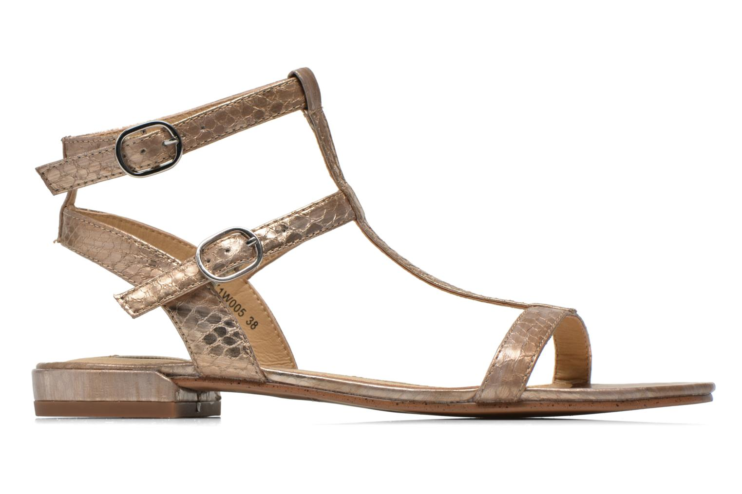 Sandals Esprit Aely Bis Sandal Bronze and Gold back view