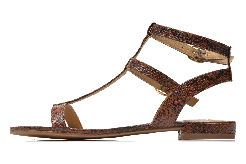 Sandals Esprit Aely Bis Sandal Brown front view