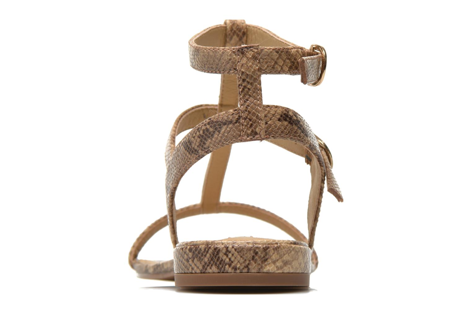 Sandals Esprit Aely Bis Sandal Beige view from the right