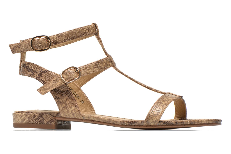 Sandals Esprit Aely Bis Sandal Beige back view