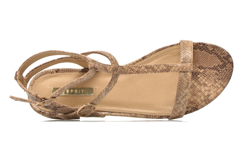 Sandali e scarpe aperte Esprit Aely Bis Sandal Beige immagine sinistra