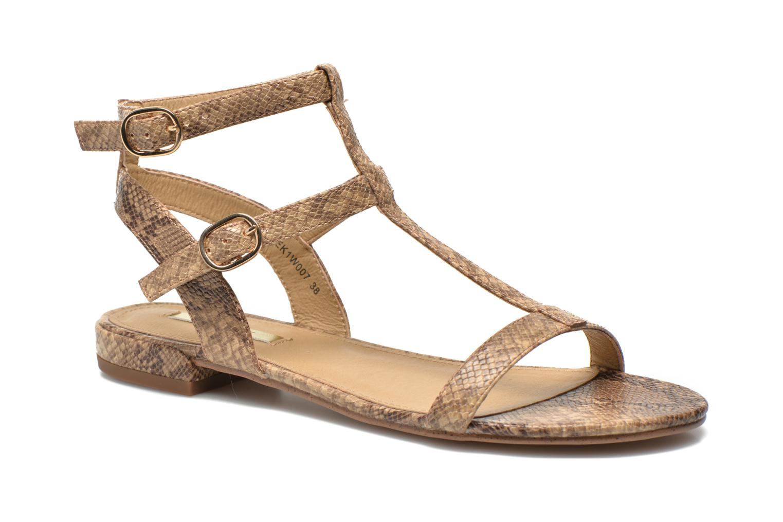 Sandals Esprit Aely Bis Sandal Beige detailed view/ Pair view