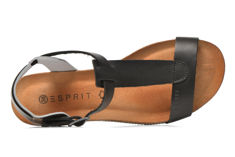 Sandales et nu-pieds Esprit Aisha Sandal 2 Noir vue gauche