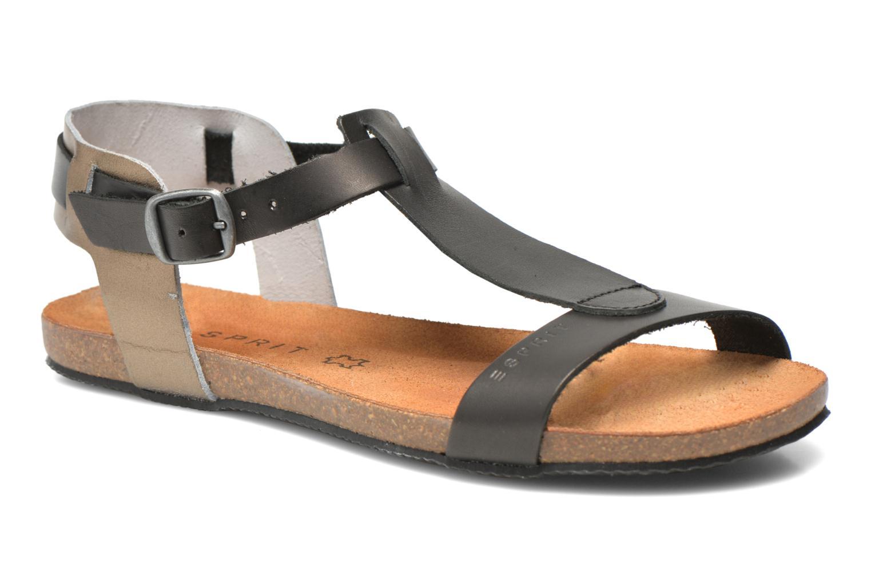 Sandales et nu-pieds Esprit Aisha Sandal 2 Noir vue détail/paire