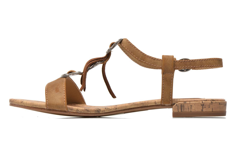 Sandales et nu-pieds Esprit Aely Ter Sandal Marron vue face