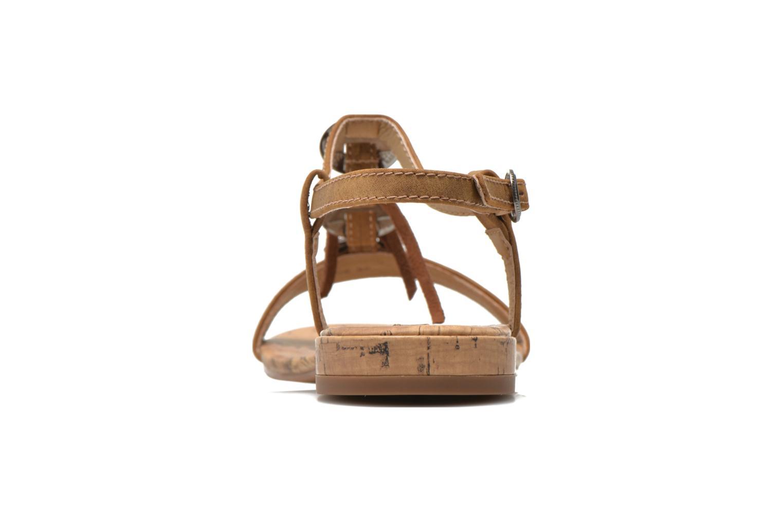 Sandales et nu-pieds Esprit Aely Ter Sandal Marron vue droite