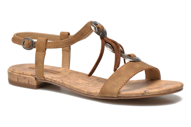 Sandales et nu-pieds Esprit Aely Ter Sandal Marron vue détail/paire